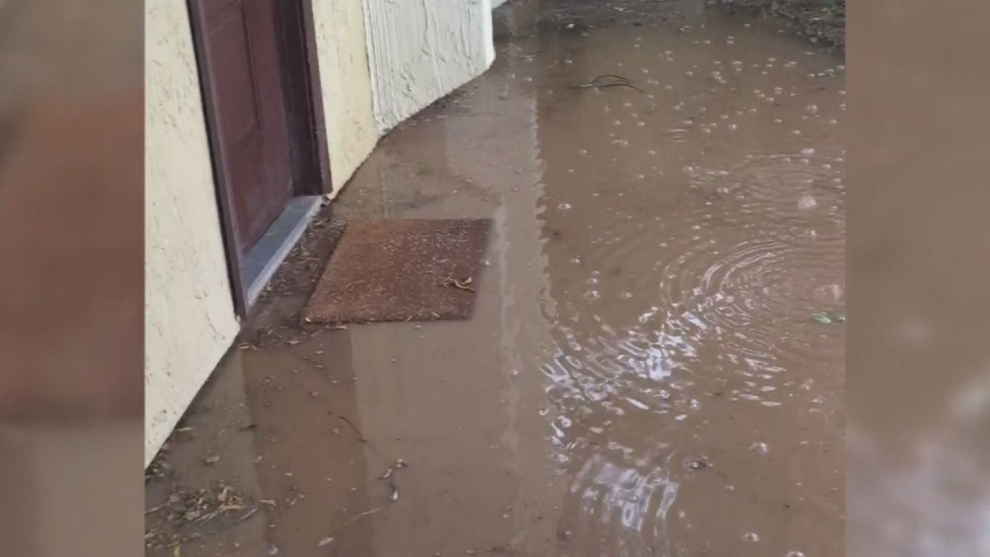 Gabriel isn't the only tenant dealing with flooding. (Source: 3TV/CBS 5)