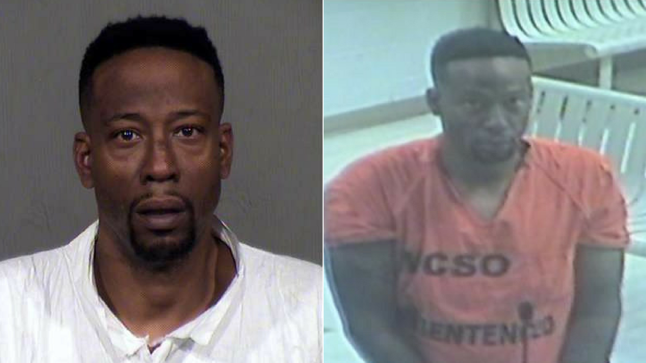 A Phoenix man accused of killing his estranged wife and two children before getting into a shootout with police at a central Phoenix apartment complex on Christmas Day is scheduled to be arraigned in court Thursday morning. (Source: MCSO/3TV/CBS 5)