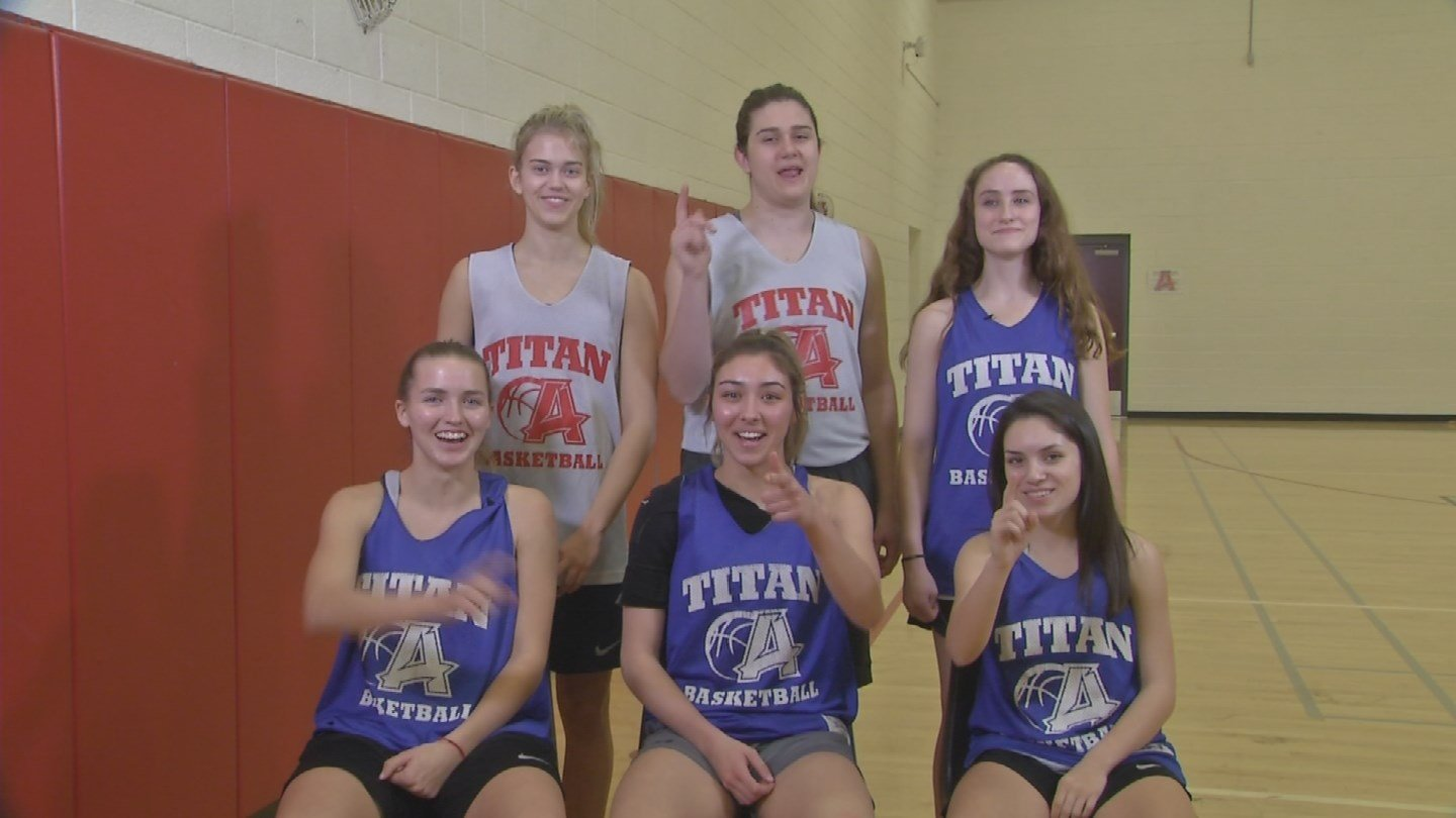 The Arcadia Titans are lead by a group of six seniors.  Bryce Nixon, Lauren Dib, Dylan Watkiss, Cassidy Campbell, Taylor Houser, and  Jada Dubois have their sights set on a state title run.