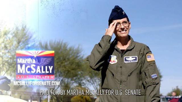 McSally announced her bid in a video Friday morning. (Source: Martha McSally's office)