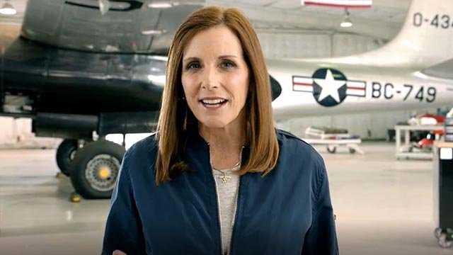 Arizona Rep. Martha McSally announced her bid for Senate. (Source: Martha McSally's office)