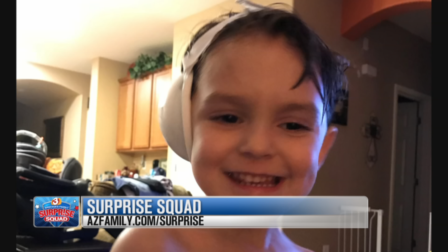 Shealynn, who lives in Gilbert with her three young children, reached out for help after her four-year-old son, Joshua contracted MRSA. (Source: 3TV/CBS 5)