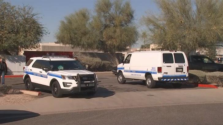 Scottsdale authorities looking into an explosive device. (Source: 3TV/CBS 5)