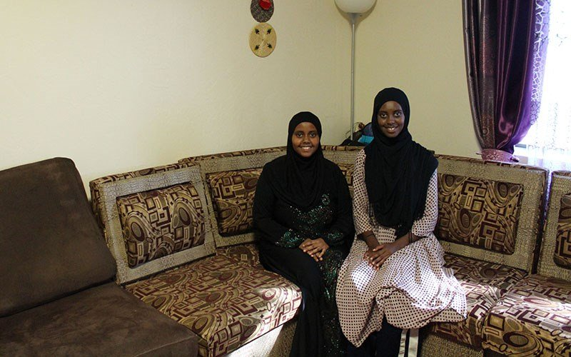 Growing up, sisters Samah Mohamed and Huda Mohamed were scared to go to school because of militant tribes in Nairobi