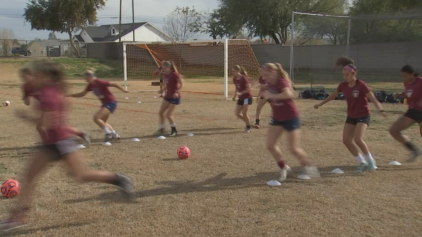 Perry High School Girls Soccer team is ranked #1 in the state. 12 Jan. 2018 (Source: 3TV/CBS 5 News)