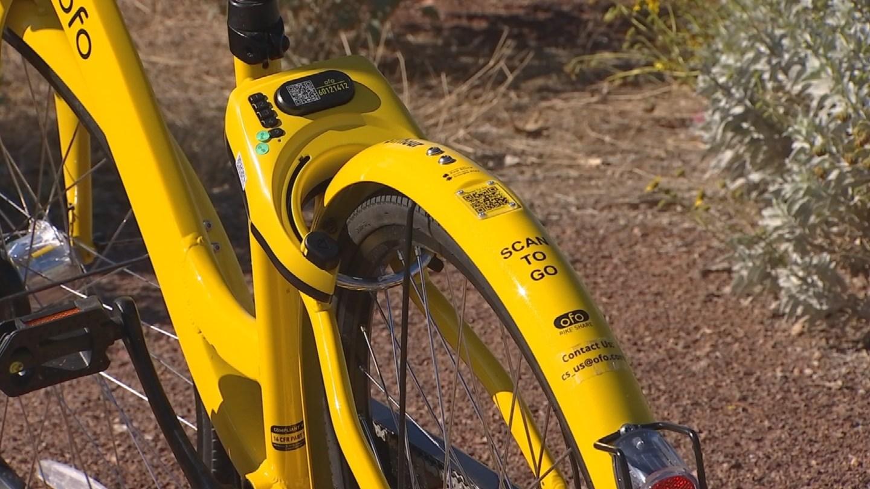 The city of Scottsdale's bike share program. 12 Jan. 2018 (Source: 3TV/CBS 5 News)