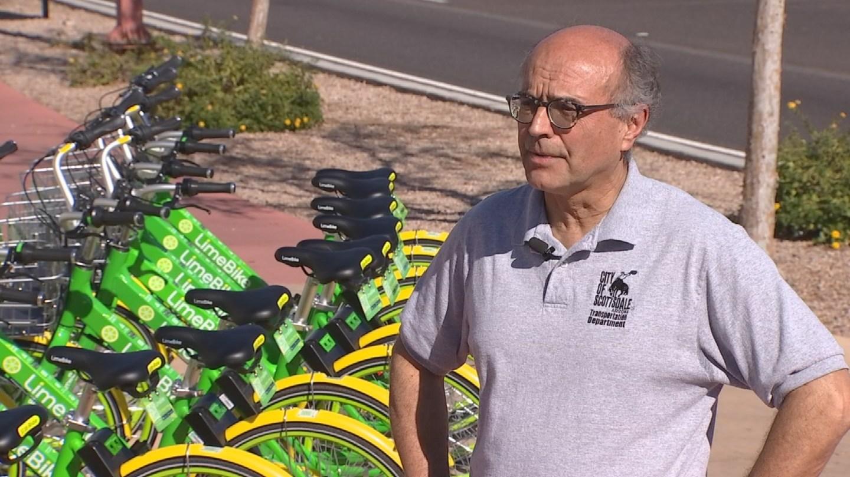 Scottsdale Transportation Director, Paul Basha. 12 Jan. 2018 (Source: 3TV/CBS 5 News)