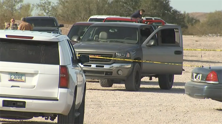 People drove the victim in a pickup truck to authorities. (Source: 3TV/CBS 5)