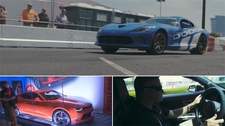 There's plenty to do at the Barrett-Jackson Auto Auction in Scottsdale. (Source: barrett-jackson.com/3TV/CBS 5)
