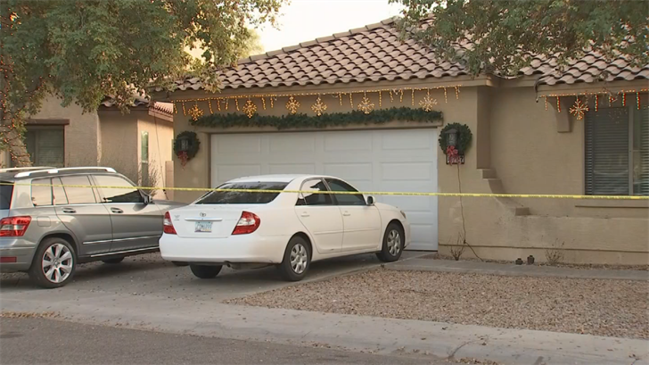 Phoenix police arrived and found the child on the side of the pool, firefighters said. (Source: 3TV/CBS 5)