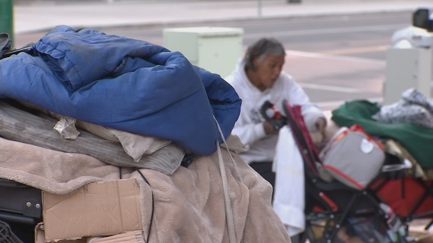 Housing options for homeless persons is limited. 15 Jan. 2018 (Source: 3TV/CBS 5 News)