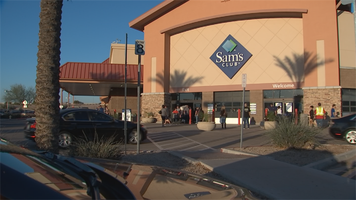 The Chandler location is one of four Sam's Clubs locations closing in Arizona. (Source: 3TV/CBS 5)