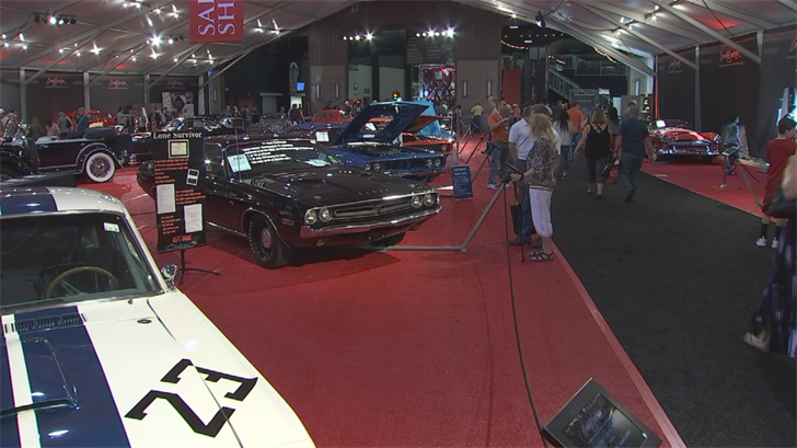 Serious bidders will need a bidder's card in order to bid on the high-priced cars at the auction. (Source: 3TV/CBS 5)