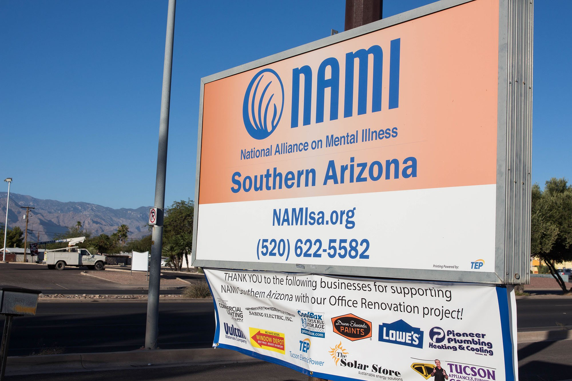 The Southern Arizona NAMI organization received a planning grant in August to devise a way to integrate Ending the Silence into all Arizona middle and high schools. (Photo by Tynin Fries/Cronkite News)