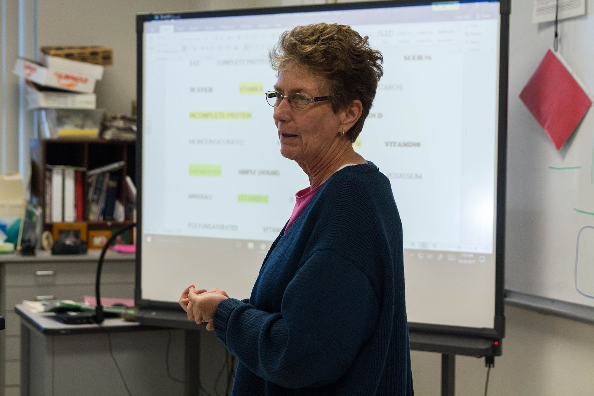 Kimberly Lurie has taught health at Tucson High Magnet School for six years. (Photo by Tynin Fries/Cronkite News)