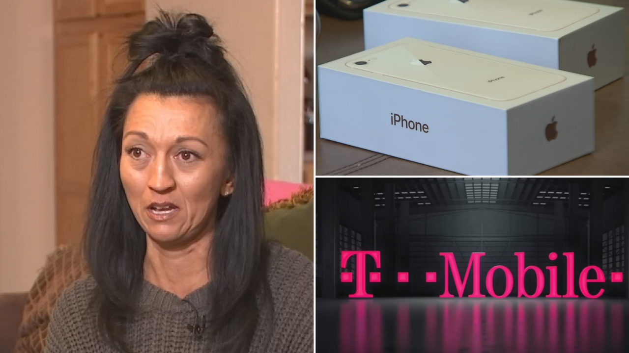 A Surprise woman says she was on the hook for $700 for a so-called free phone. (Source: 3TV)
