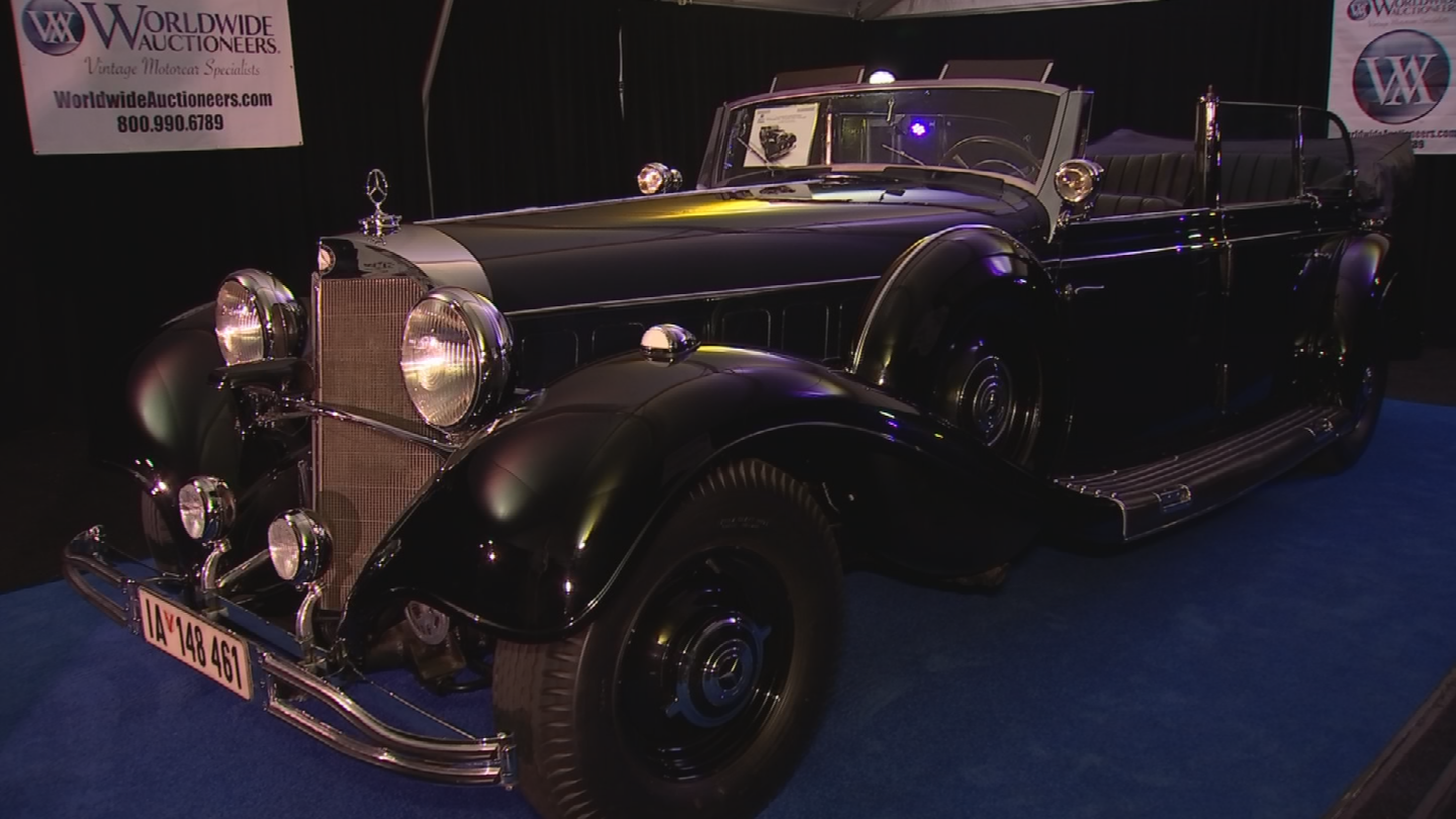 Adolf Hitler's wartime car will be auctioned off in Scottsdale on Wednesday. (Source: 3TV/CBS 5)