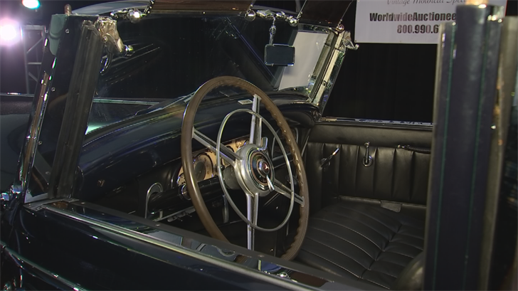 The car has had some work done to the body and engine but the interior is mostly original. (Source: 3TV/CBS 5)