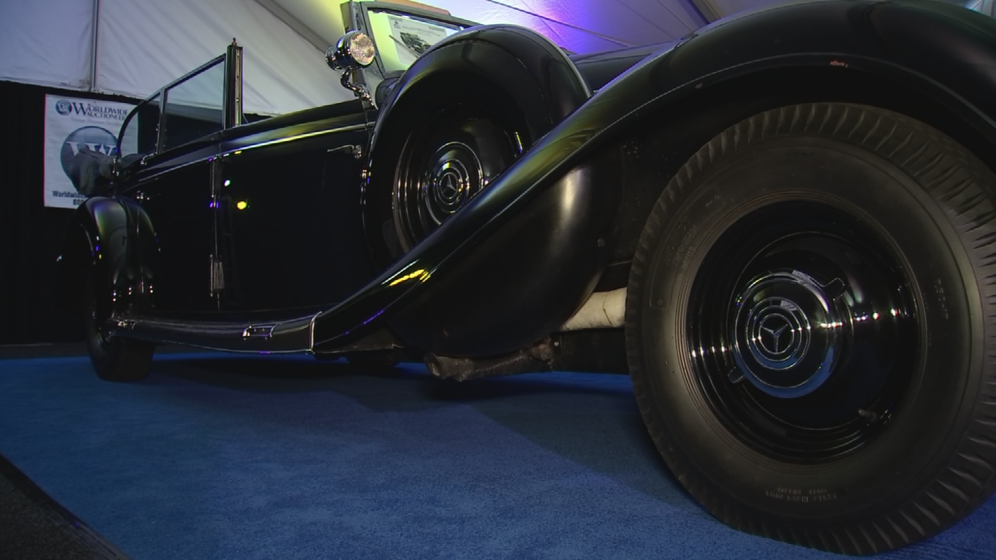 Worldwide Auctioneers says the car can be traced back to 1939. (Source: 3TV/CBS 5)