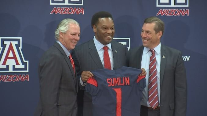 Kevin Sumlin becomes Arizona's first African-American Head Coach. (Source: 3TV/CBS 5)
