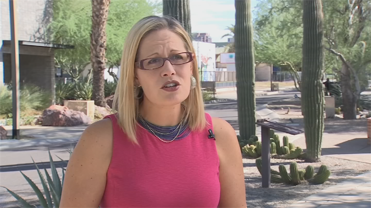 Police have arrested a man they said was stalking Rep. Kyrsten Sinema. (Source: 3TV/CBS 5)