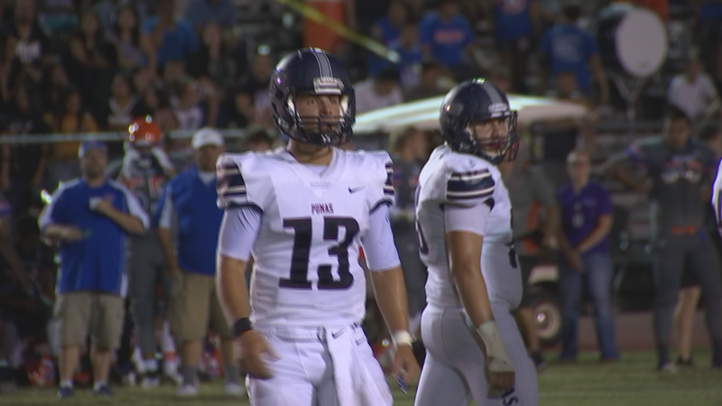 Perry High's Brock Purdy was offered a full scholarship from Alabama. (Source: 3TV/CBS 5)
