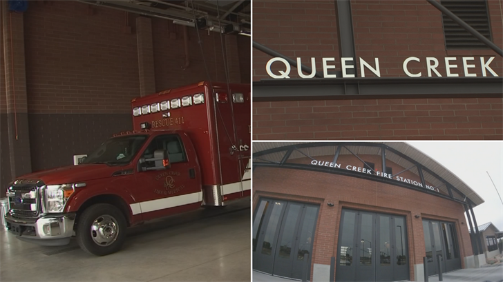 Thanks to a couple of fire stations, the safety rating of Queen Creek went up. (Source: 3TV/CBS 5)