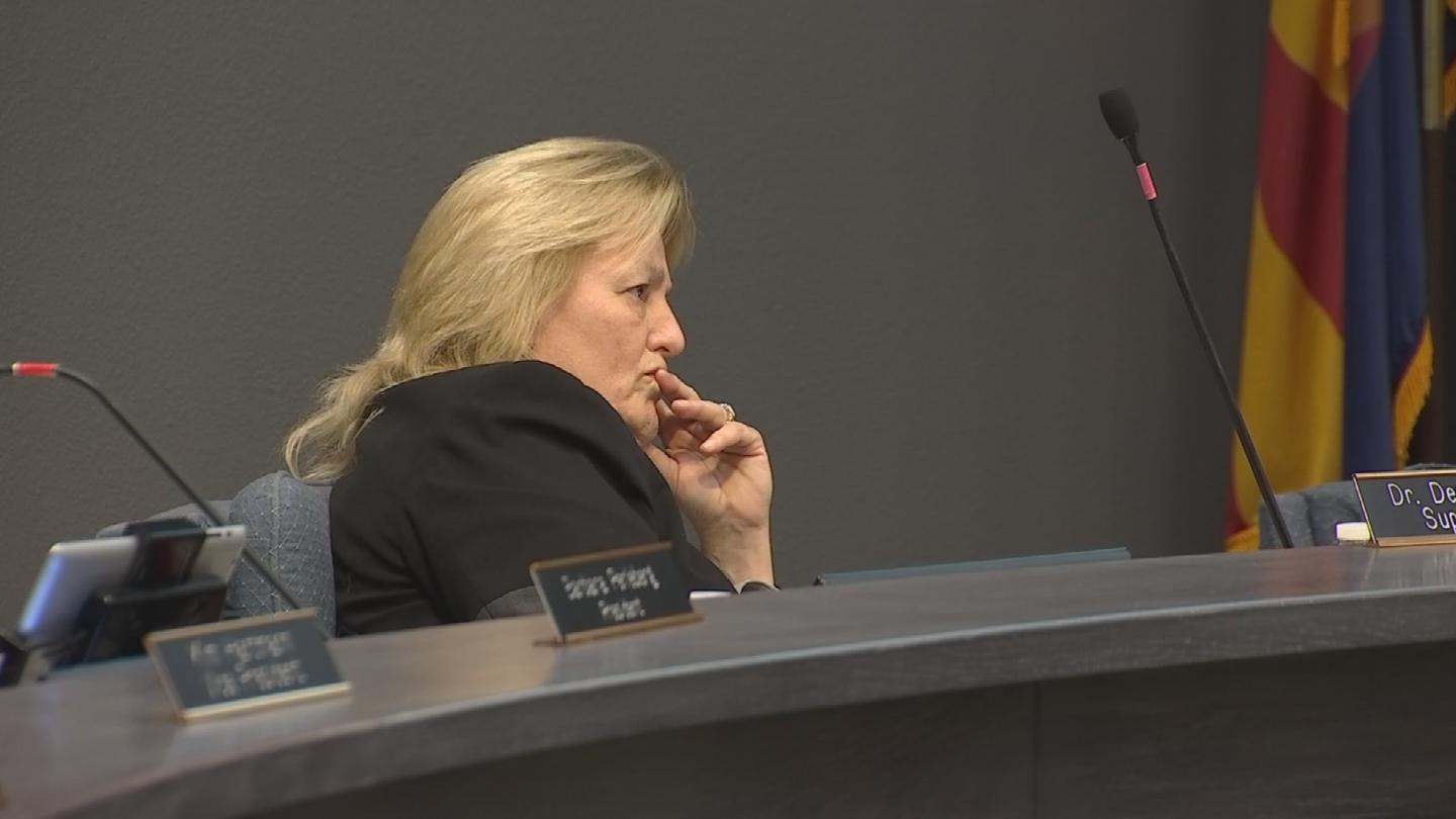 Dr. Birdwell was somewhat ambiguous in her public comments during the meeting, but in a written statement she made it clear much of her criticism was about Monday's report. (Source: 3TV/CBS 5)