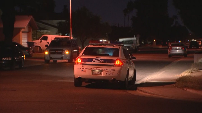 A 15-year-old boy was shot in the leg in west Phoenix. (Source: 3TV/CBS 5)