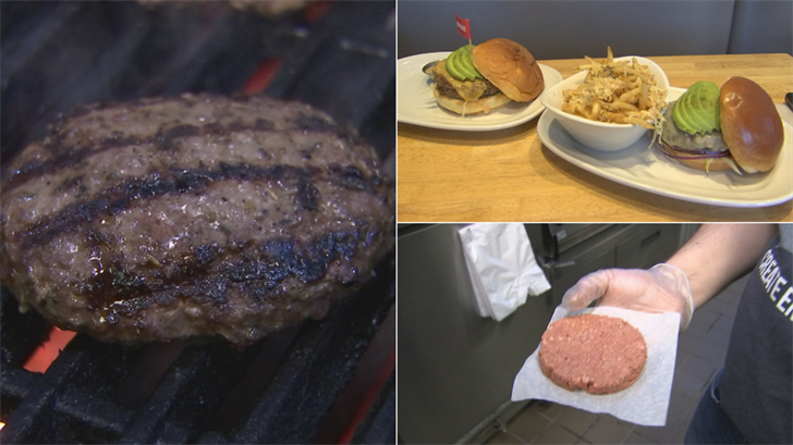 It's being known as the veggie burger that bleeds and sizzles just like real meat. (Source: 3TV/CBS 5)