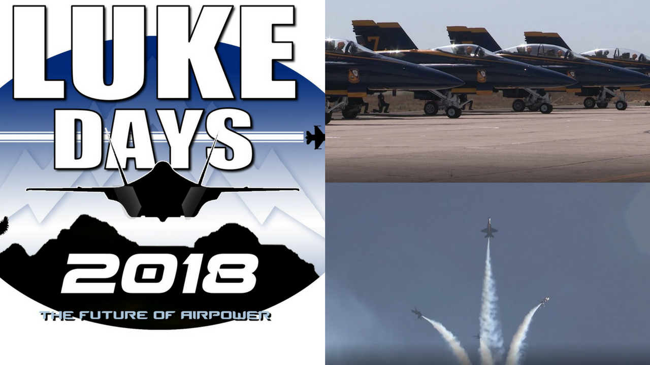 Luke Days has been moved to mid-March by the 56th Fighter Wing in order to ensure the public a more robust and dynamic experience. (Source: Luke Air Force Base)