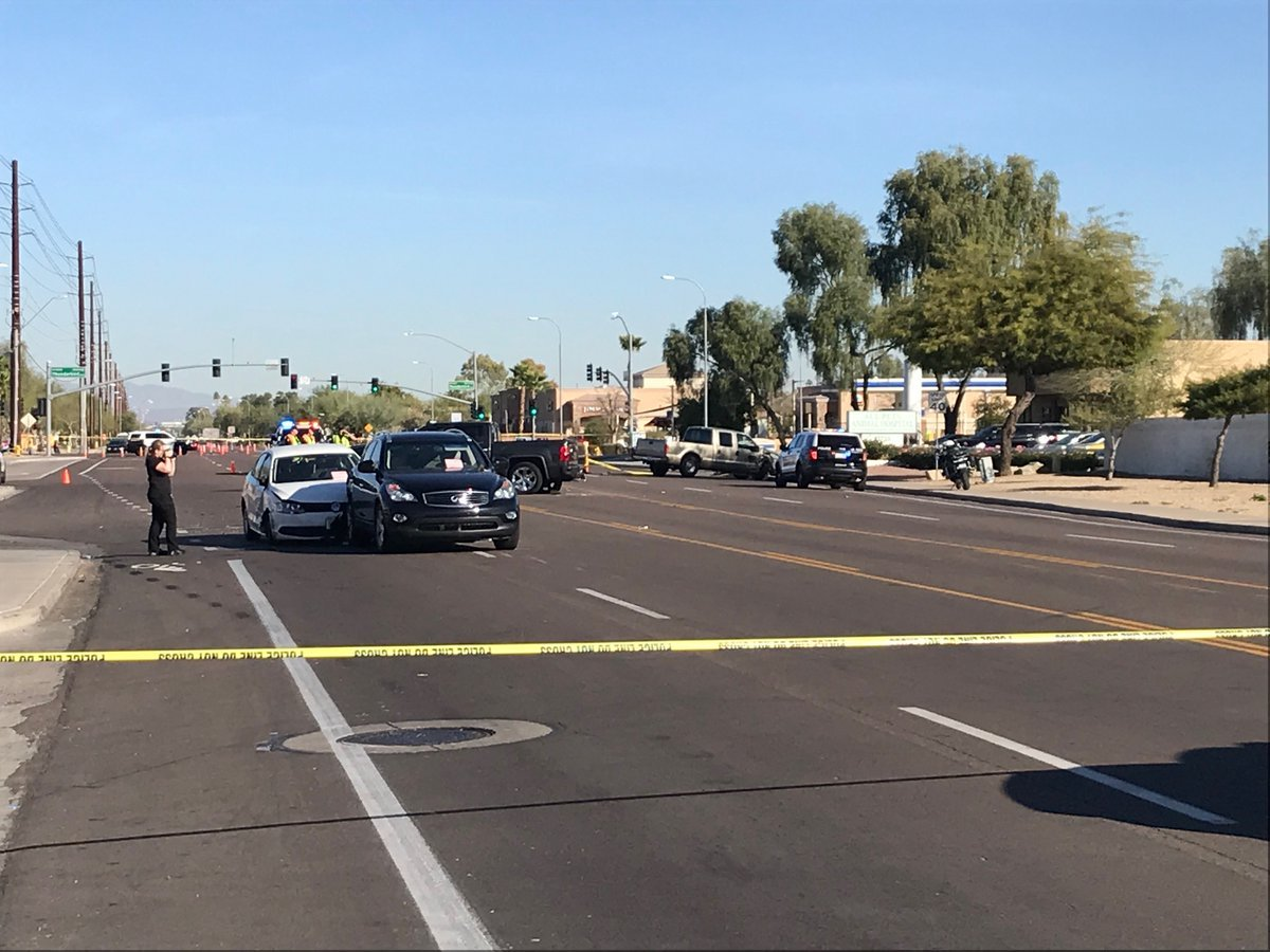 The suspect caused a crash and then shot at officers while running from them, police said. (Source: Peoria Police Department)