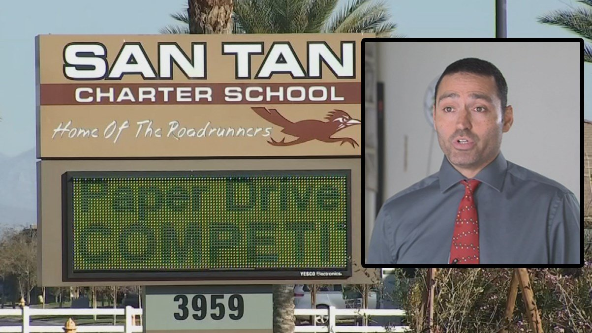 San Tan Charter School wasn't fined for hiring a teacher who had his teaching certificate revoked. (Source: 3TV/CBS 5)