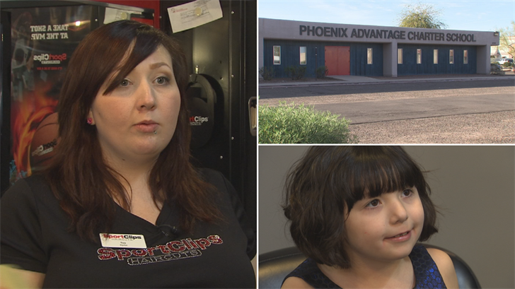 Tee Kohnke said Phoenix Advantage Charter School didn't accept her daughter because of her Type 1 diabetes. (Source: 3TV/CBS 5)