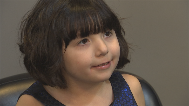 Six-year-old Elara was recently diagnosed with diabetes. (Source: 3TV/CBS 5)