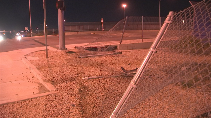 It appears one of the vehicles went off the overpass at the intersection of U.S. 60 and Higley, down the embankment and onto the freeway, where it may have struck another vehicle. (Source: 3TV/CBS 5)