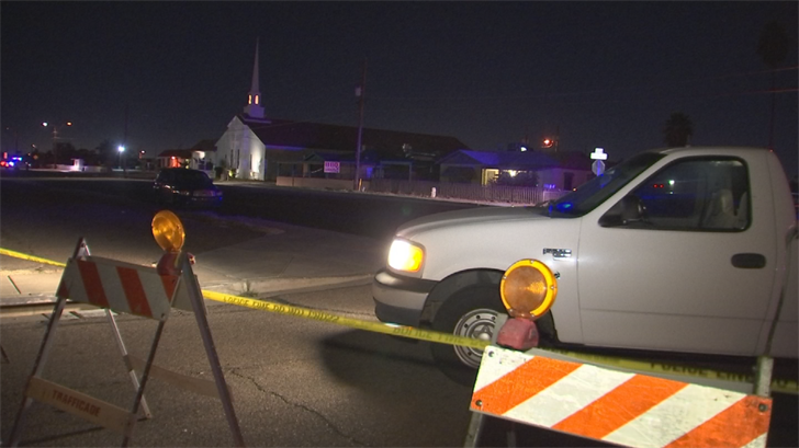 The Phoenix Police Department is investigating a deadly crash involving a pedestrian Thursday morning. (Source: 3TV/CBS 5)
