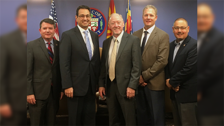 The Maricopa County Board of Supervisors appointed Rick Gray to fill Debbie Lesko's seat in the state Senate. (Source: Maricopa County)