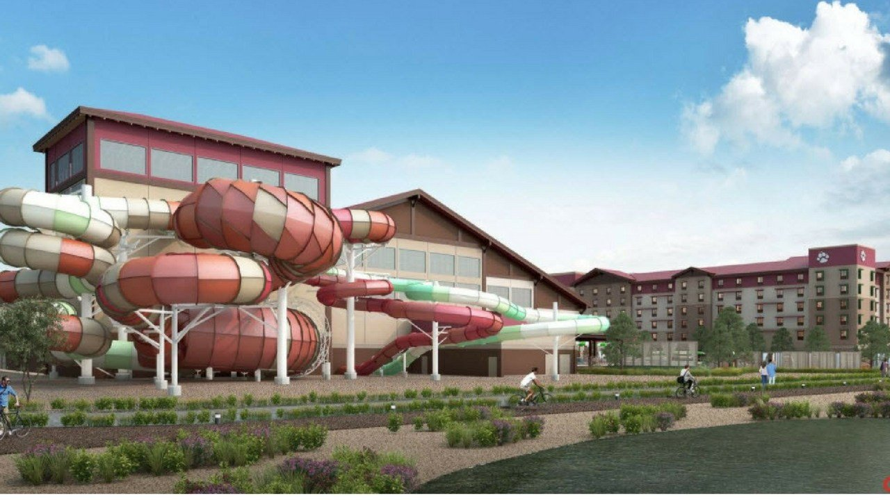 Artist rendering of Great Wolf Lodge (Source: Great Wolf Lodge Arizona)