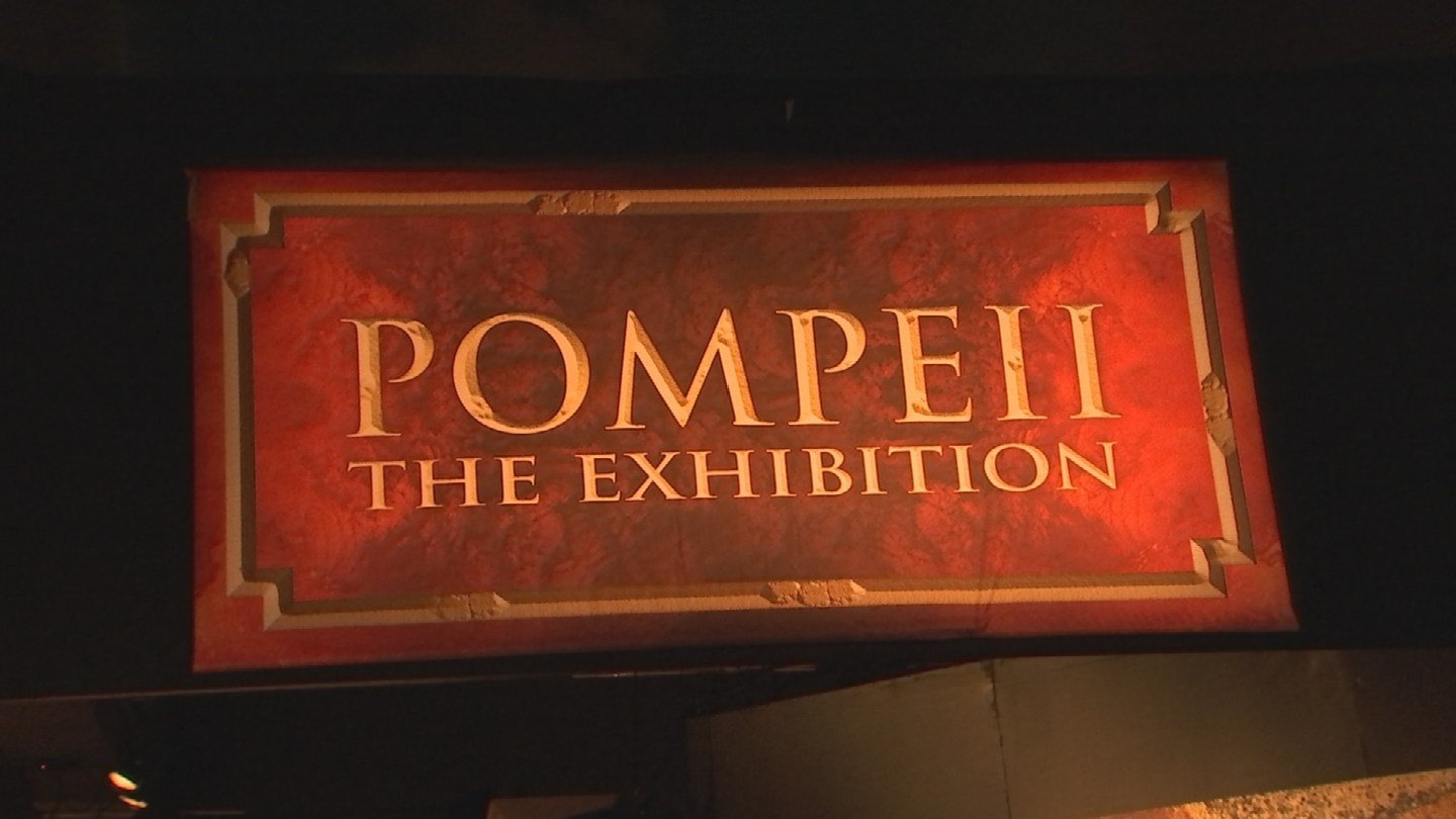 The Arizona Science Center is staging a life-like recreation of the deadly volcanic eruption that decimated the ancient city of Pompeii in 79 A.D. (Source: 3TV/CBS 5)