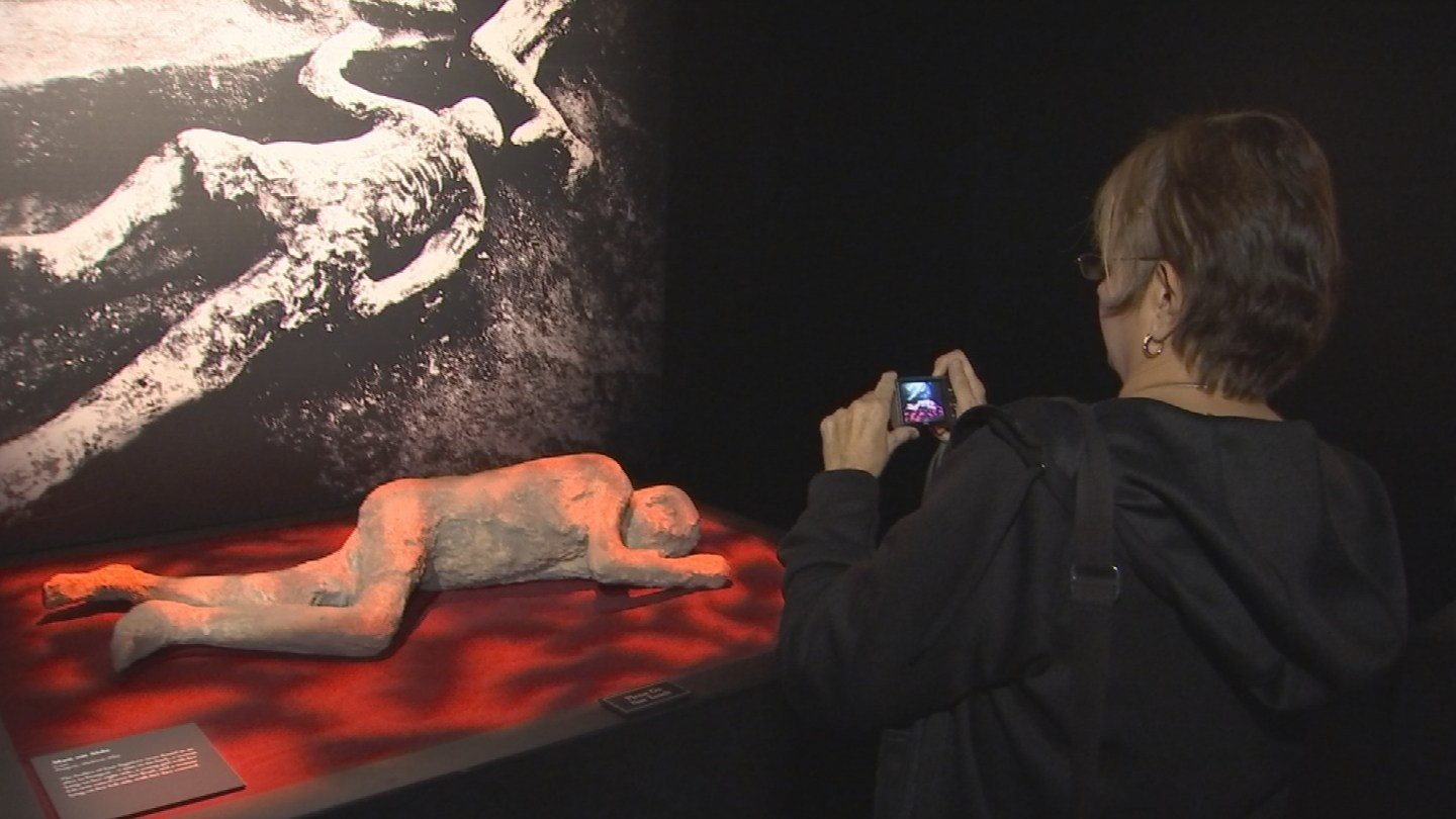 The immersive experience is all apart of Arizona Science Center's new exhibit, Pompeii: The Exhibition, that runs until May 28.(Source: 3TV/CBS 5)