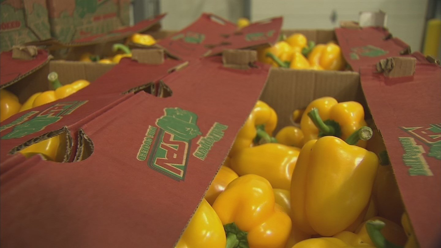 Most of the winter produce gets sorted, boxed and shipped across the country but it is getting tougher to get these vegetables out of town. (Source: 3TV/CBS 5)