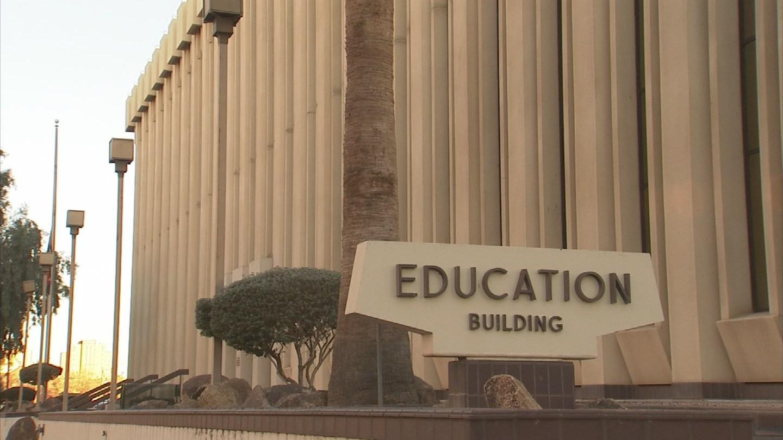 Board of Education building in downtown Phoenix. 22 Jan. 2018 (Source: 3TV/CBS 5 News)