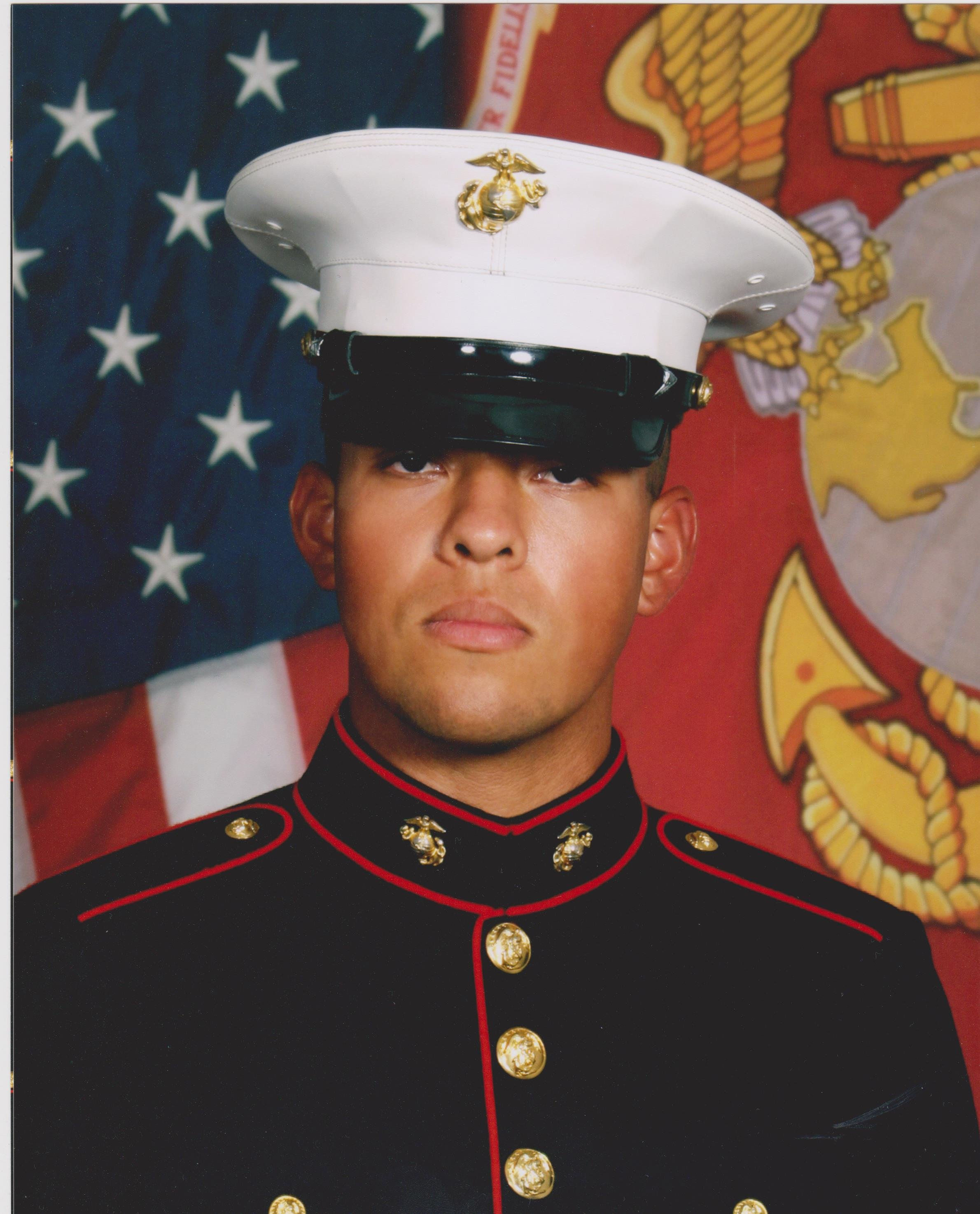 His brother, Fernando Romero, says his whole life, Alex wanted nothing more than to be a Marine. (Source: Fernando Romero)