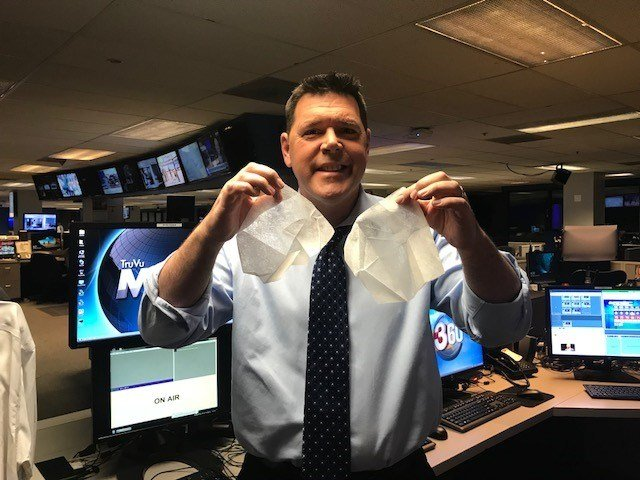 Paul Horton puts two dryer sheets in my pockets and it solves that problem. (Source: 3TV/CBS 5)