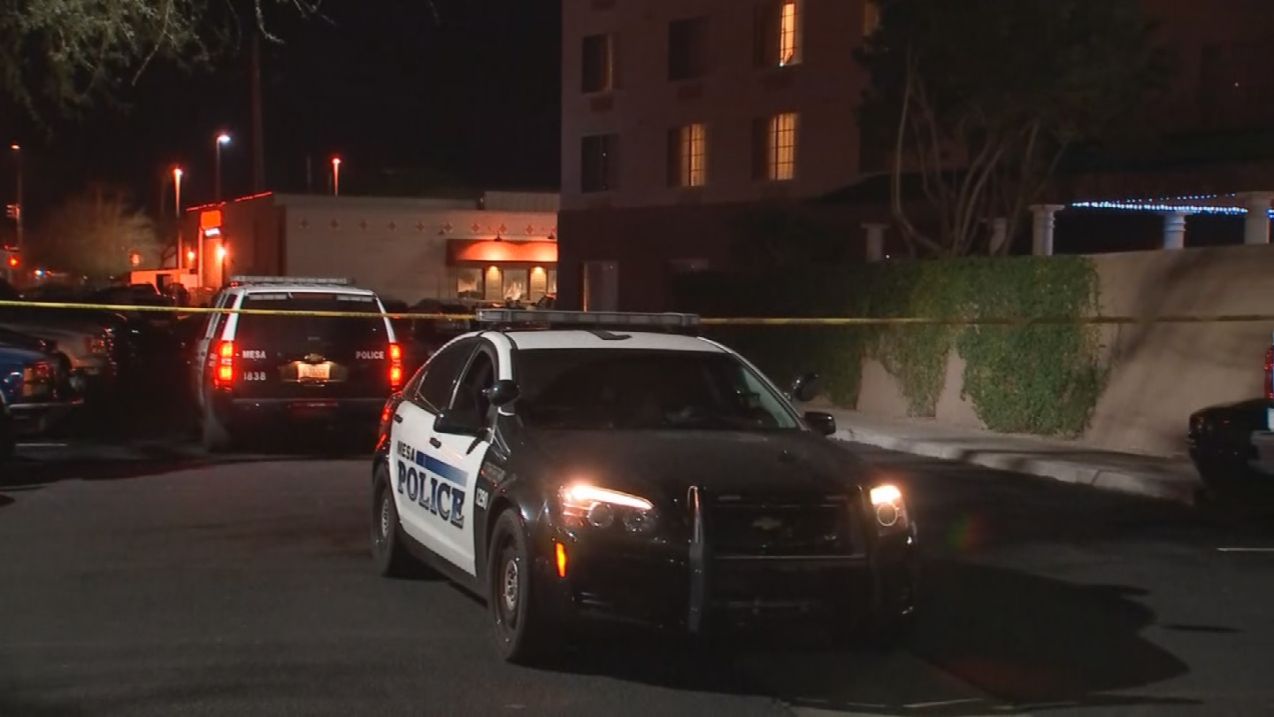 The bodies were found outside the Country Inn and Suites near Power Road and Superstition Springs Freeway. (Source: 3TV/CBS 5)