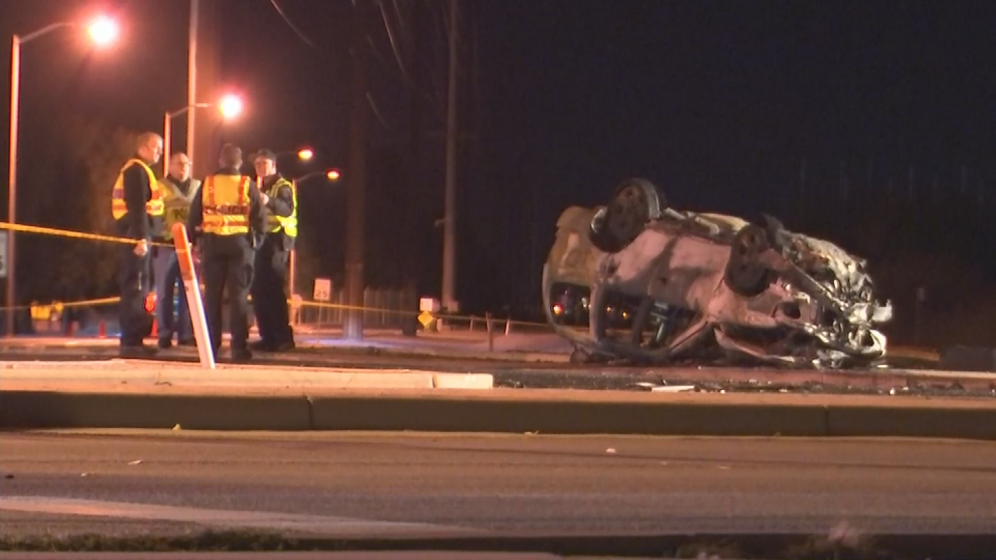 Last Wednesday morning, 21-year-old Christopher Cook struck a moving train at the train tracks on Val Vista Drive south of Warner Road around 2 a.m. (Source: 3TV/CBS 5)
