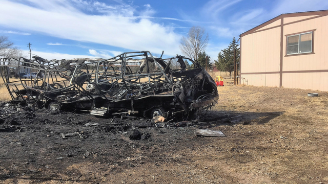 Yavapai County Sheriff's officials say a man is dead and a woman injured after a motorhome fire in Chino Valley. (Source: Yavapai County Sheriff's Office)
