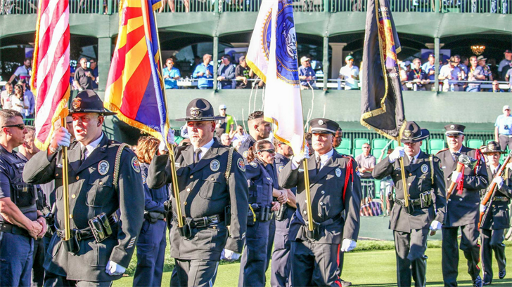 First responders at the Waste Management Phoenix Open (Source: Phoenix Open)