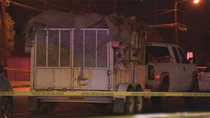 Police said a pedestrian was struck and killed late Thursday night in Phoenix. (Source: 3TV/CBS 5)